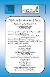 Invitation 4 Illumination Dinner